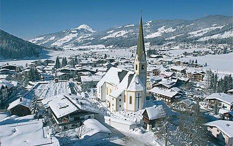Een impressie van wintersport in Kirchberg